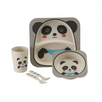 Vango Bamboo Panda Kid's Dining Set
